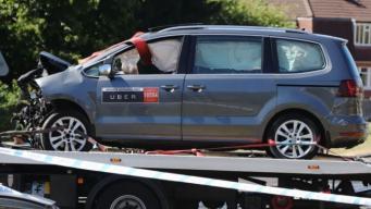 Такси Uber попало в смертельное ДТП в Лидсе