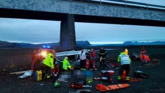 Британские туристы погибли в страшном ДТП в Исландии