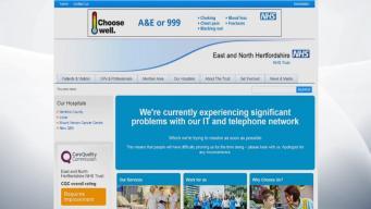 Сервера британской системы государственного здравоохранения поражены кибератакой
