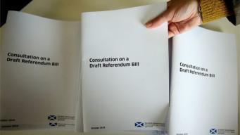 В Шотландии завершается работа над законопроектом о повторном референдуме фото:bbc.com