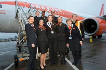 EasyJet отметил 8 Марта комплектацией полностью женского экипажа фото:travelweek