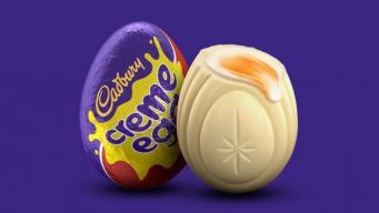 Cadbury заплатит десять тысяч фунтов за белое яйцо