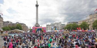 На Трафальгарской площади мусульмане отпразднуют окончание Рамадана