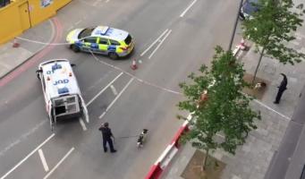 Контролируемый взрыв произведен у американского посольства в Баттерси