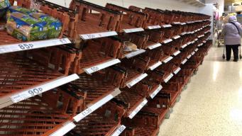 Жесткий Брекзит опустошит прилавки британских супермаркетов