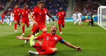 Трансляция матча Англии с Тунисом стала самой популярной передачей года на британском ТВ