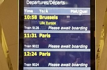 Поезда Eurostar задержались на шесть часов по обе стороны Ла-Манша