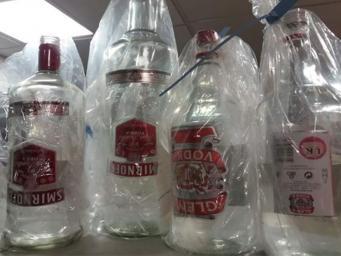 В Великобританию завезена большая партия смертельно опасной водки