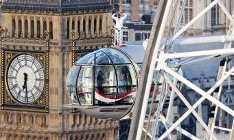 Мо Фарах простился с большим спортом и признался в любви Лондону с колеса London Eye фото:thesun
