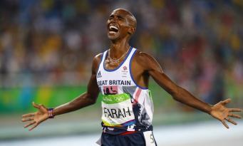 Мо Фарах выиграл второе «золото» в Рио фото:theguardian.com