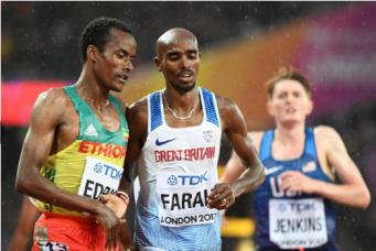 Чемпионат мира по легкой атлетике:  Кто спасет честь Соединенного королевства? фото:standard.co.uk