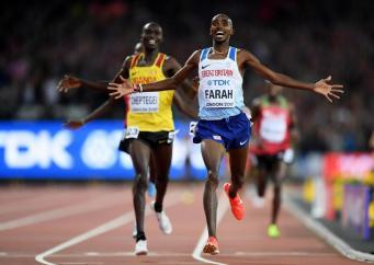 Мо Фарах стал шестикратным чемпионом мира на дистанции в Лондоне фото:independent