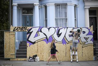 Миллионеры Ноттинг-Хилла забаррикадировались от толпы на время карнавала