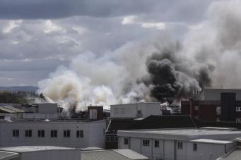В больнице Манчестера произошел сильный пожар: пациенты и врачи эвакуированы