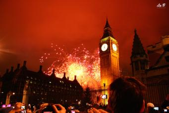 Объявлена дата продажи билетов на Новогодний фейерверк в центре Лондона фото:londonist.com