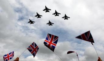 Грандиозный парад авиации состоится в Лондоне на следующей неделе