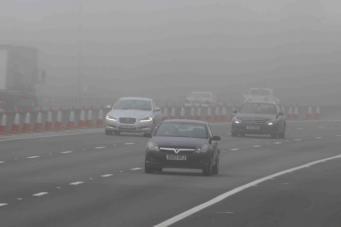 Британское метеобюро предупреждает о стремительно усиливающемся тумане