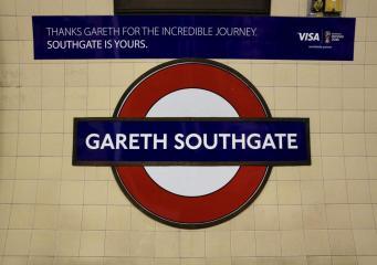 Станция лондонского метро переименована в честь тренера английской сборной