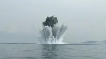 Рыбацкое судно у острова Уайт поймало в сети германскую мину в боевом состоянии