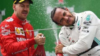 Льюис Хэмилтон выиграл юбилейную гонку Formula 1
