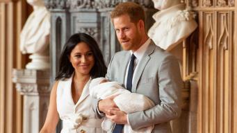 Супруги Сассекские выбрали имя для новорожденного сына