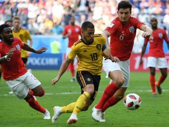 Сборная Англии проиграла Бельгии второй раз за время Чемпионата мира