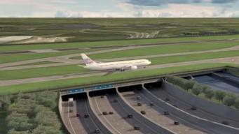 Проект прокладки ВПП Хитроу поперек магистрали М25 обеспокоил Управление автодорог