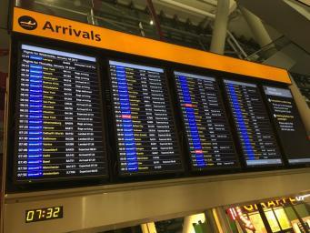 Британские авиапассажиры столкнутся с проблемой отмены и задержки рейсов фото:independent