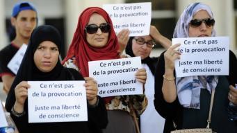Европейский суд юстиции одобрил запрет на ношение хиджаба на работе фото:bbc