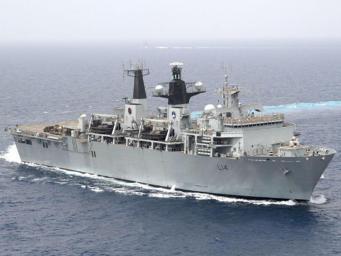 Великобритания отправила третий военный корабль к северокорейской границе