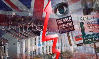 В Великобритании зафиксирован беспрецедентный рост цен на жилье
