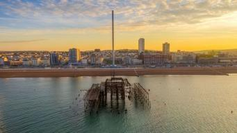 Обзорная башня в Брайтоне закрыта из-за поломки фото:bbc