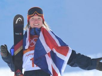 Великобритания впервые получила олимпийскую медаль  в лыжной дисциплине