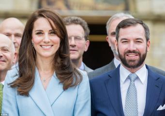 Герцогиня Кейт посетила с официальным визитом Люксембург фото:dailymail