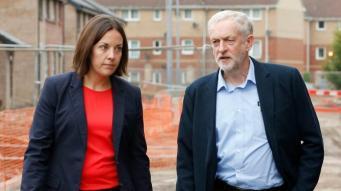 Лидер лейбористов в Шотландии уходит в отставку фото:itv