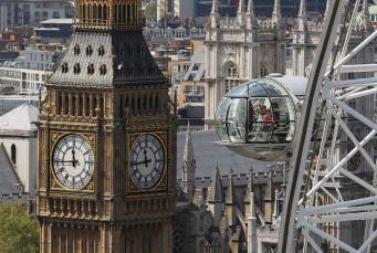 Как провести ночь в капсуле колеса обозрения London Eye?