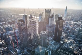 Лучшие фото Лондона с высоты в 2018 году