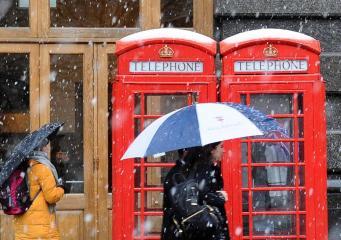 Краткосрочный прогноз погоды: возможен снег в Лондоне