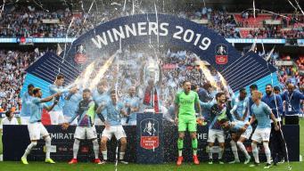 Manchester City выиграл Кубок Англии с разгромным счетом