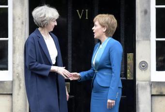 Шотландия не получит дополнительных полномочий автономии фото:independent.co.uk