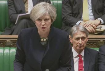 Тереза Мэй выступила за сохранение прав граждан ЕС в Великобритании