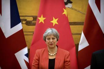 Результативность визита Мэй в Китай под вопросом из-за «гонконгского вопроса»