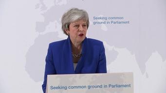 Тереза Мэй представила парламентариям новый компромиссный вариант договора о Брекзите