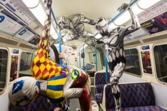 Обыкновенные чудеса лондонского метро фото:londonist