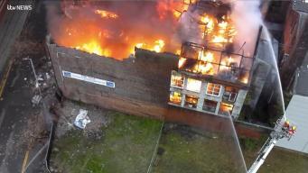 В центре Манчестера сгорела историческая мельница