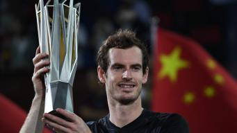 Энди Маррэй победил в финале турнира Shanghai Rolex Masters фото:thetimes.co.uk