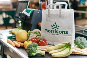 Morrisons поднимет цену на многоразовые пластиковые пакеты и предложит альтернативу