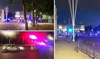 Атака на полицейских у Букингемского дворца