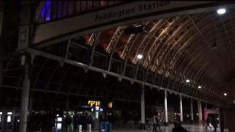 Вокзал Паддингтон погрузился во тьму