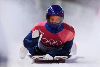 Британская Олимпийская сборная заработала первую медаль в Пхенчхане